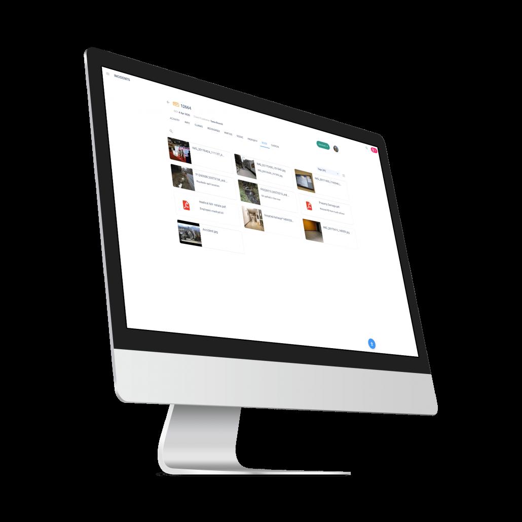 Cloud Claims Desktop Right
